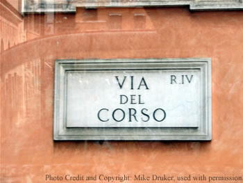 Via Del Corso. The Cane Corso - Behind the Name